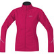 GORE RUNNING WEAR Essential WS Partial Löparjacka Dam pink